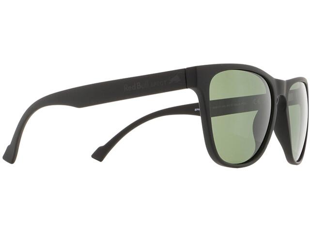 Red Bull SPECT Spark Sunglasses matte black/green-green